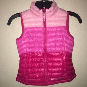 Girl's Free Country XS (5/6) Pink Puff Vest